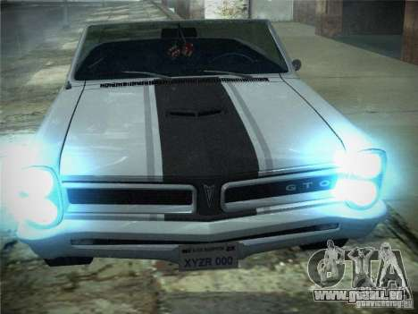Pontiac GTO 1965 für GTA San Andreas linke Ansicht