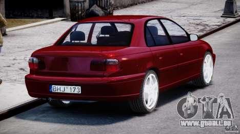 Opel Omega 1996 V2.0 First Public pour GTA 4 est un côté