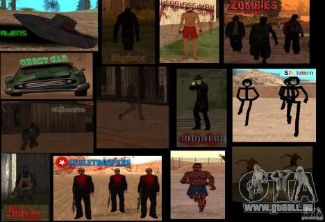 Mystische Kreaturen für GTA San Andreas