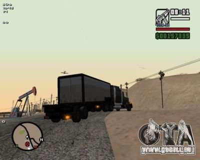 Turn Indicators 2.0 pour GTA San Andreas deuxième écran