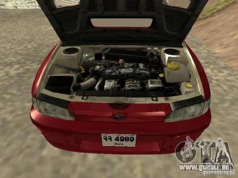 Subaru Impreza WRX STI 1995 pour GTA San Andreas vue de droite