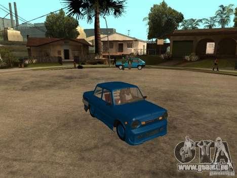 ZAZ 968 MUSIQUE EXPERT pour GTA San Andreas vue de droite