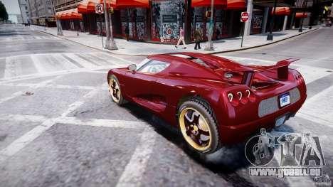 Koenigsegg CCRT pour GTA 4 est une gauche
