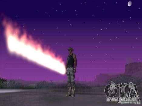 Épée de feu pour c Jay pour GTA San Andreas