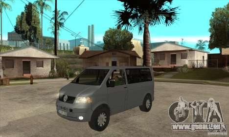 Volkswagen Transporter T5 TDI pour GTA San Andreas