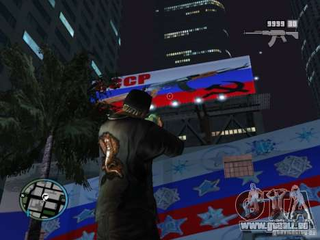 Russian Ammu-nation pour GTA San Andreas deuxième écran