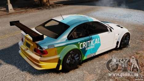 BMW M3 GTR MW 2012 für GTA 4 linke Ansicht