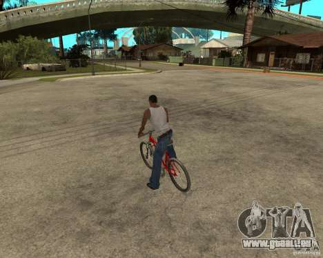 Kona Cowan 2005 pour GTA San Andreas laissé vue
