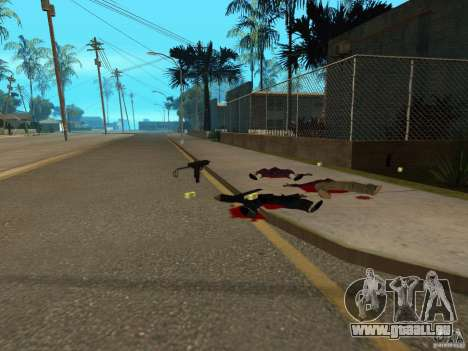 Pak inländischen Waffen für GTA San Andreas achten Screenshot
