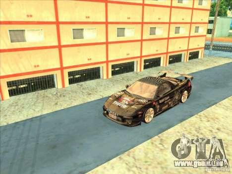 Acura NSX 1991 Tunable pour GTA San Andreas vue intérieure