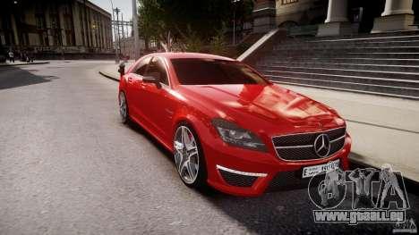 Mercedes-Benz CLS 63 AMG 2012 für GTA 4 Seitenansicht