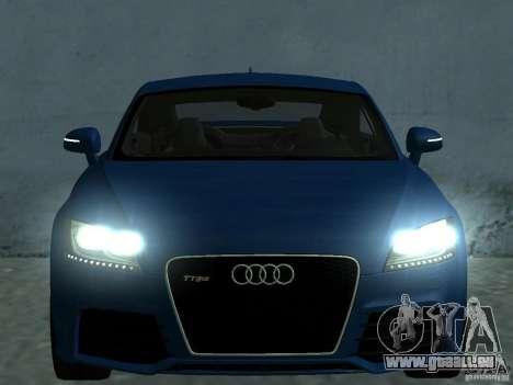 Audi TT RS pour GTA San Andreas moteur