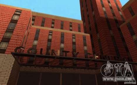 Neue Texturen für das Krankenhaus in Los Santos für GTA San Andreas dritten Screenshot