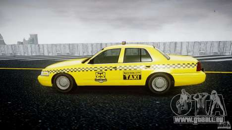 Ford Crown Victoria Raccoon City Taxi für GTA 4 linke Ansicht