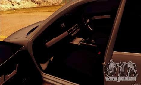 Toyota Aristo pour GTA San Andreas vue de côté