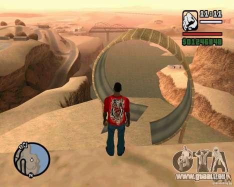 La tour de Pise pour GTA San Andreas deuxième écran