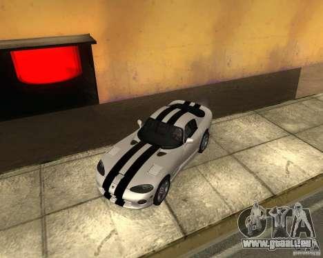 Dodge Viper GTS Coupe pour GTA San Andreas vue de droite