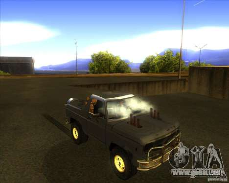 Blazer XL FlatOut2 für GTA San Andreas Seitenansicht