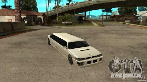 Limousine de Sultan pour GTA San Andreas