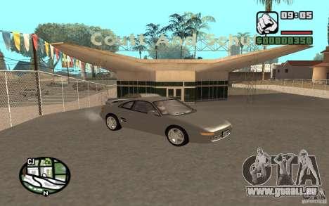 Toyota MR2 GT pour GTA San Andreas vue de droite
