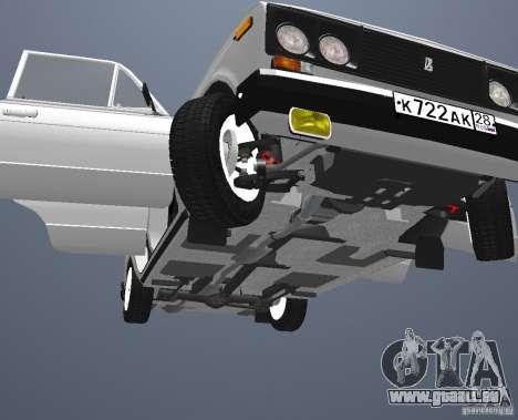 VAZ 21063 für GTA San Andreas Seitenansicht