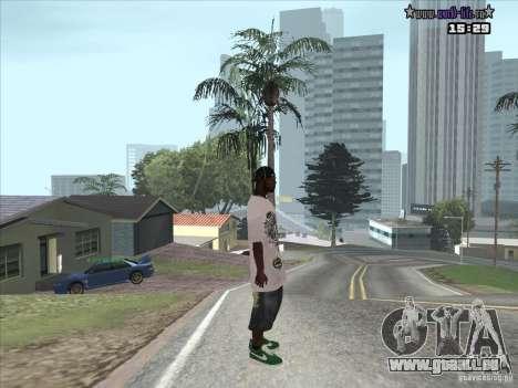 Nouvelle peau Suite pour GTA San Andreas deuxième écran