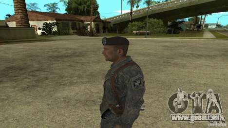 Shepard von CoD MW2 für GTA San Andreas zweiten Screenshot