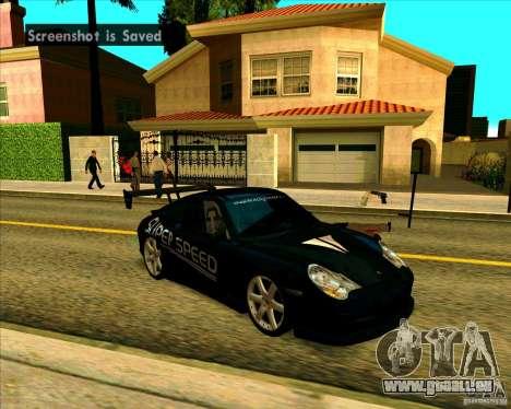 Porsche GT3 SuperSpeed TUNING pour GTA San Andreas laissé vue