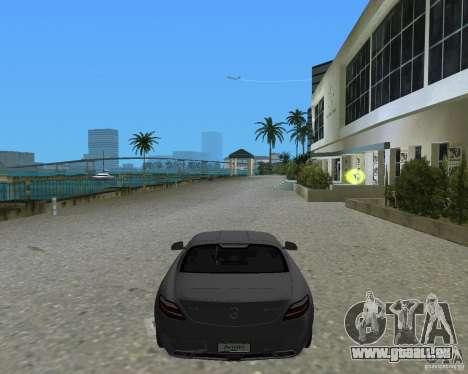 Mercedes Benz SLS AMG für GTA Vice City zurück linke Ansicht