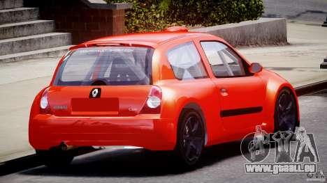 Renault Clio Sport für GTA 4 Seitenansicht