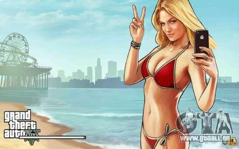 Écrans de démarrage dans le style de GTA 5 pour GTA San Andreas deuxième écran