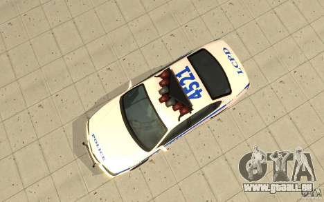 Patrouille de la police de GTA 4 pour GTA San Andreas vue de droite