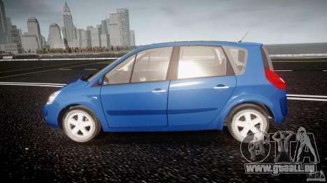 Renault Scenic II Phase 2 pour GTA 4 est une gauche