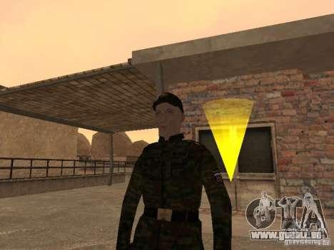 Soldats de l'armée russe pour GTA San Andreas