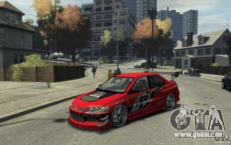 Mitsubishi Lancer pour GTA 4