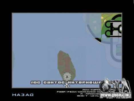 Statue de la liberté 2013 pour GTA San Andreas