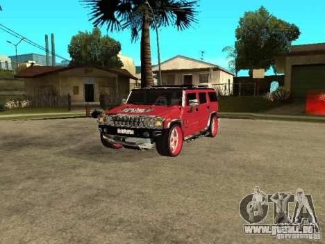 Hummer H2 Diablo für GTA San Andreas