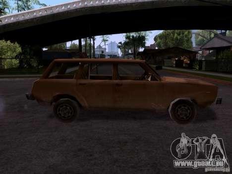 Machine de CoD MW 2 pour GTA San Andreas laissé vue