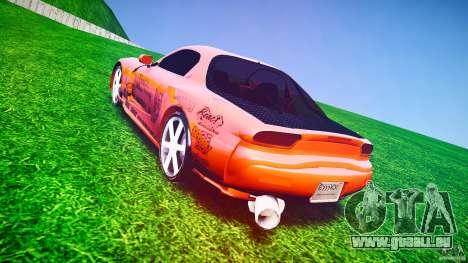 Mazda RX-7 ProStreet Style für GTA 4 Seitenansicht