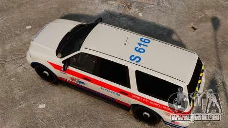 Polizei Landstalker ELS für GTA 4 rechte Ansicht