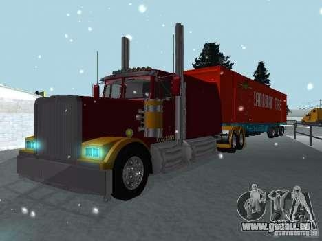Western Star 4900EX Custom pour GTA San Andreas