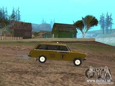 VAZ 2104 Taxi für GTA San Andreas linke Ansicht