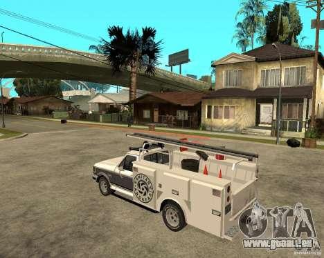 Ford F150 1992 Utility Van für GTA San Andreas linke Ansicht