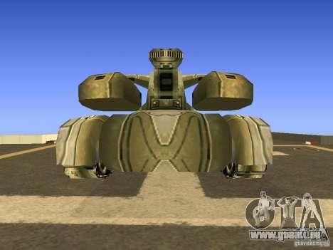 Star Wars Tank v1 für GTA San Andreas rechten Ansicht
