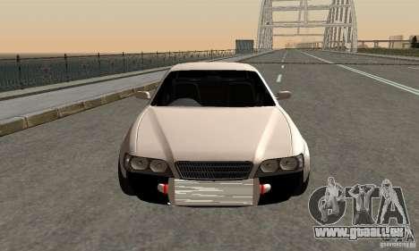 Toyoyta Chaser jzx100 pour GTA San Andreas sur la vue arrière gauche