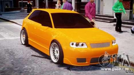 Audi A3 Tuning für GTA 4 obere Ansicht