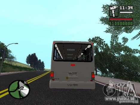 Busscar Urbanus SS Volvo B10M pour GTA San Andreas vue de droite