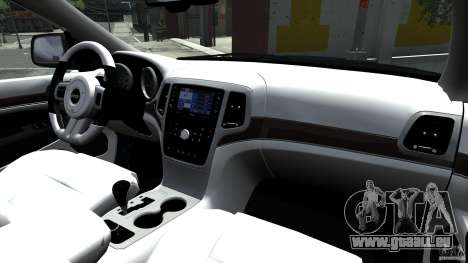Jeep Grand Cherokee STR8 2012 für GTA 4 Innenansicht