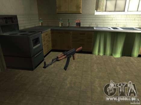Pak armes domestiques pour GTA San Andreas