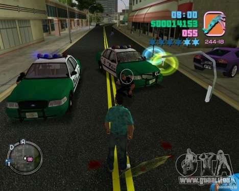 Neue Kleidung Bullen für GTA Vice City fünften Screenshot